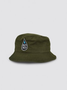 CP78_LOGO GREEN BUCKET HAT